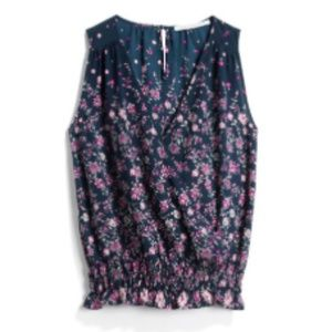 Collective Concepts - Wrap Front Floral Top